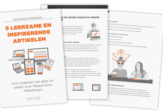 Interesse in Responsive Webdesign? Download gratis artikelenbundel van Level Level!